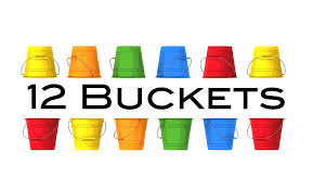 12 buckets