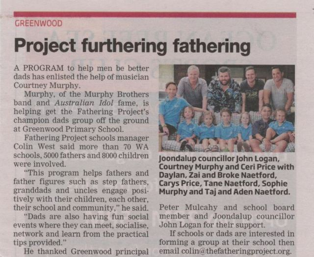 Fathering Project snipped