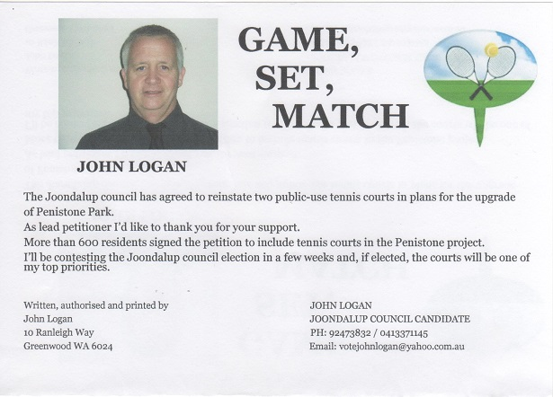 Game, set, match