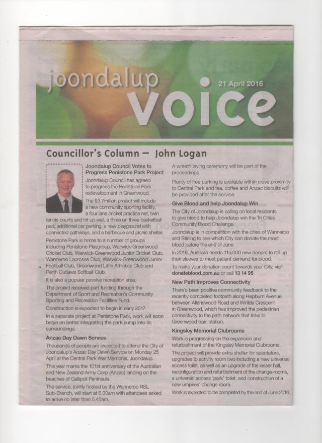 Joondalup Voice 1